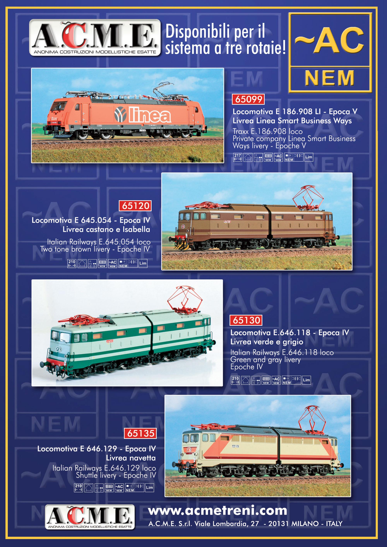 A.C.M.E - AC locomotives
