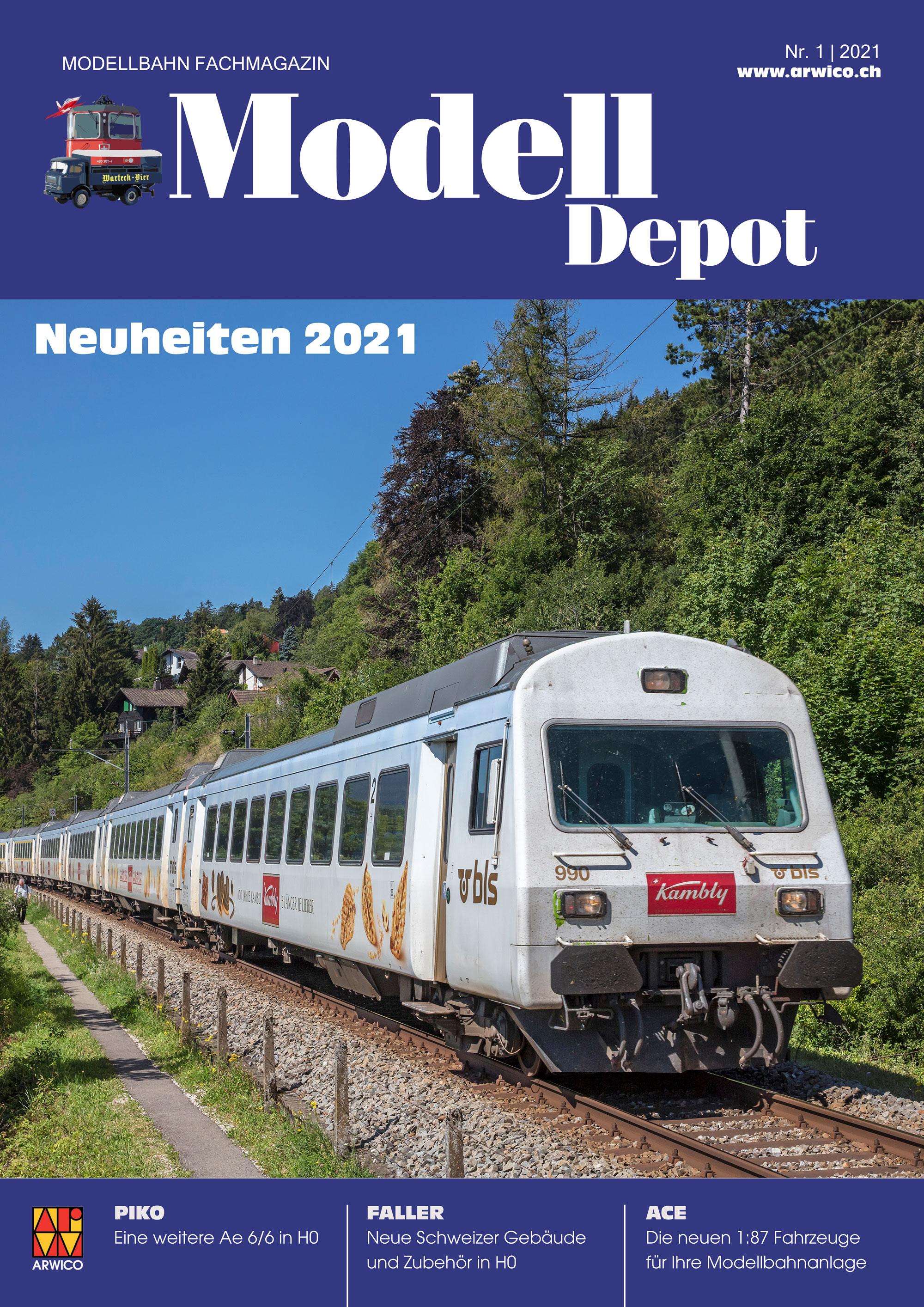 Arwico - Swiss novelties 2021