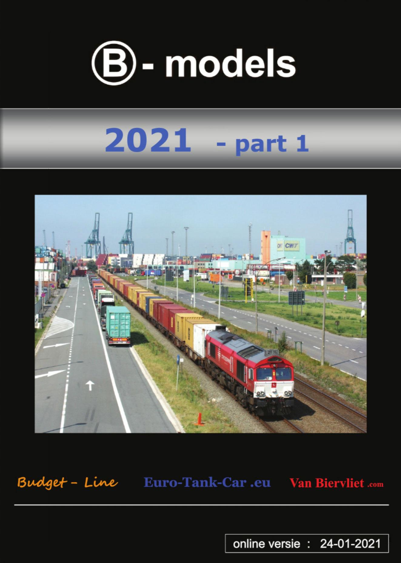 B-models - Catalog 2021 - Freight wagons