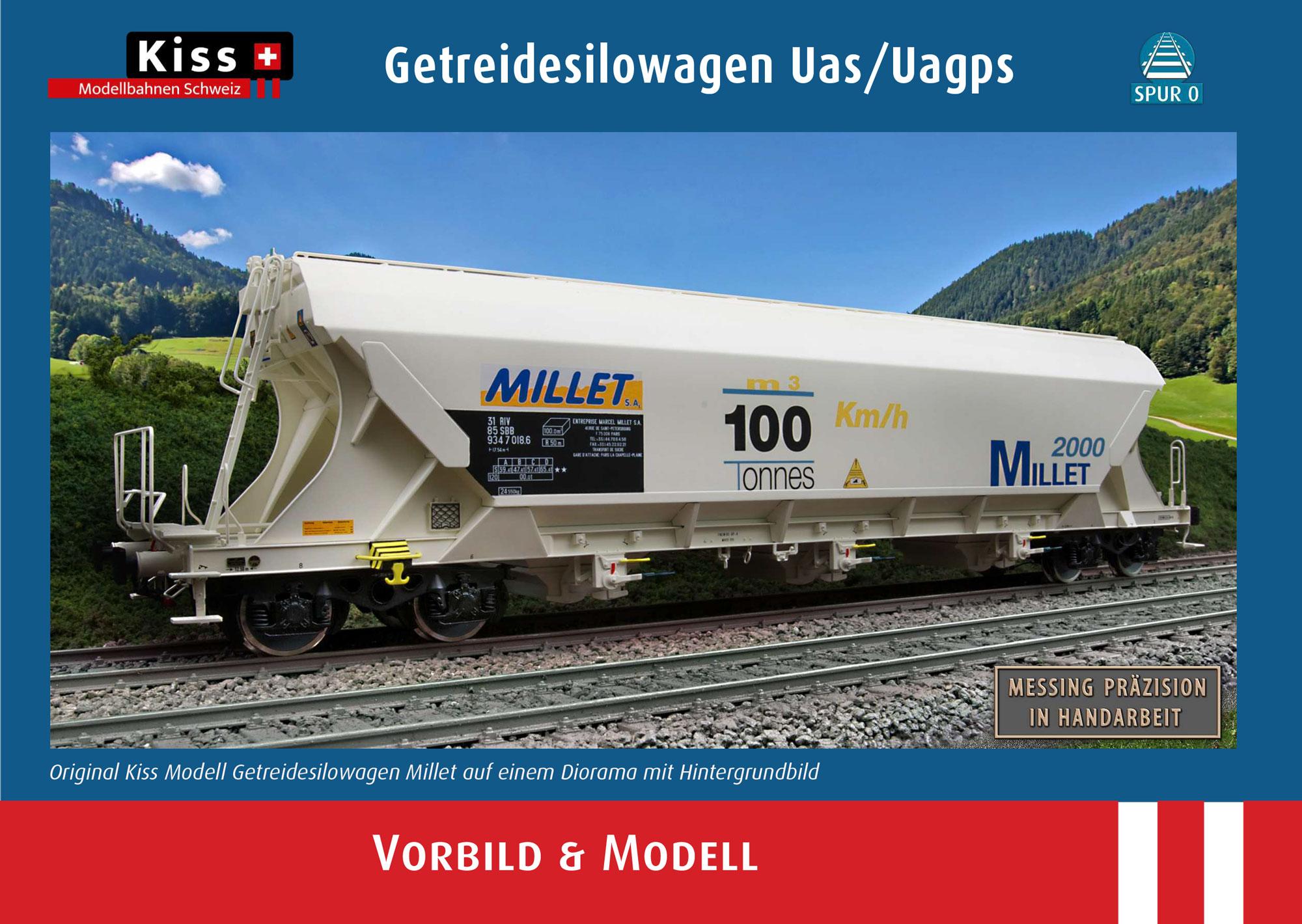 Kiss Modellbahnen Schweiz - Uas/Uagps freight wagons
