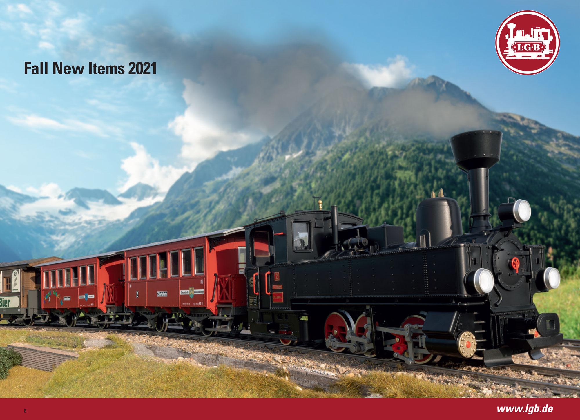 LGB - Novelties Fall 2021 catalog