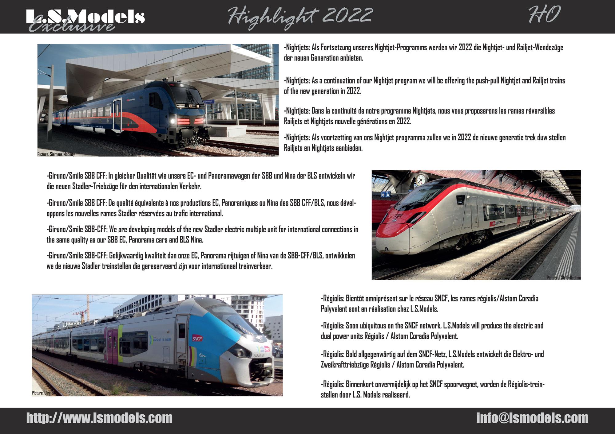 LS Models - Highlights 2022
