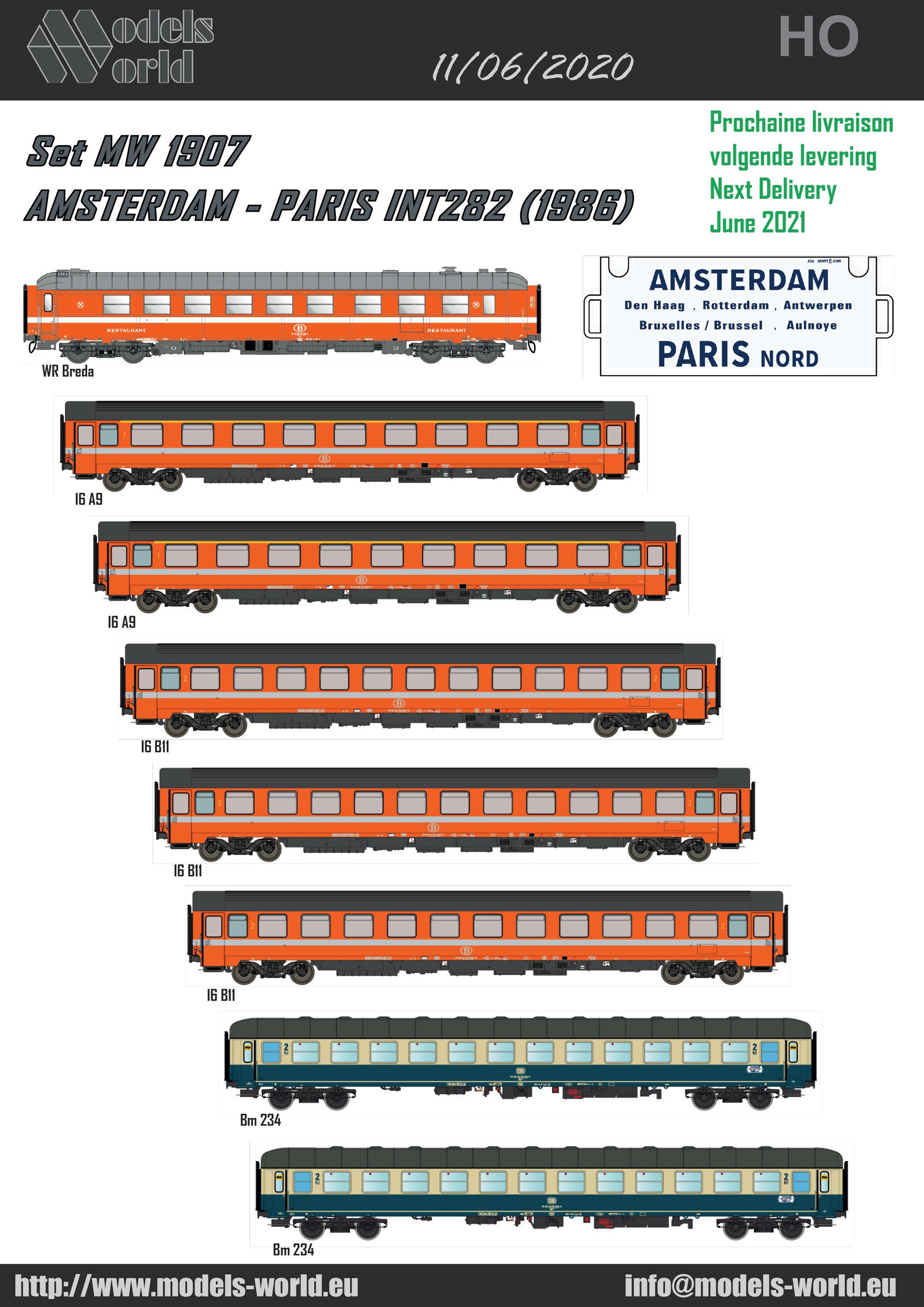 LS Models - INT 282: Amsterdam - Paris Nord (1986)