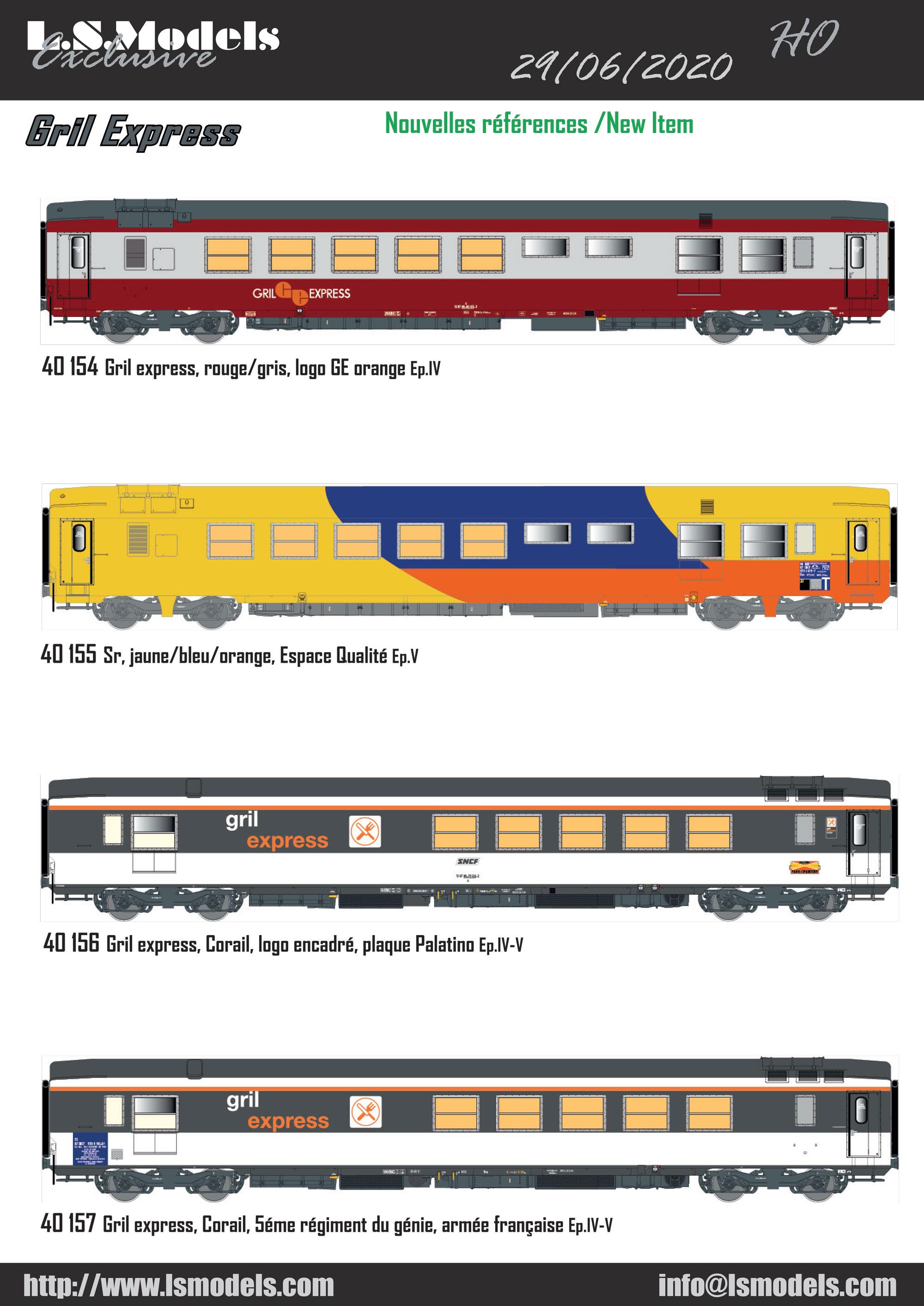 LS Models - New items June 2020