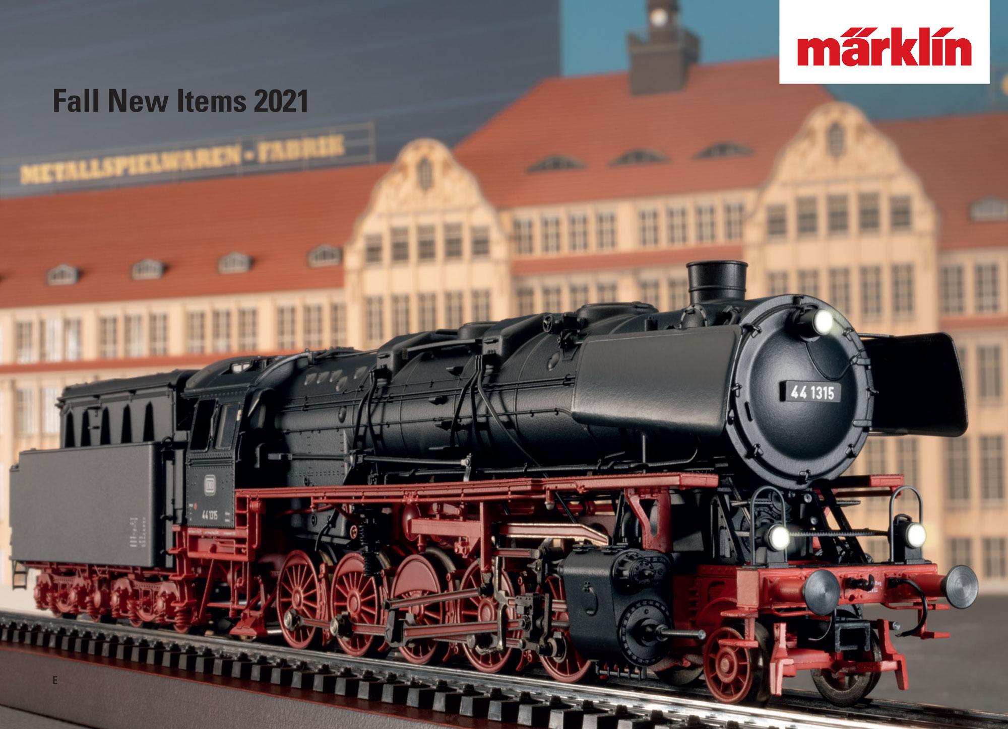 Märklin - Novelties Fall 2021 catalog