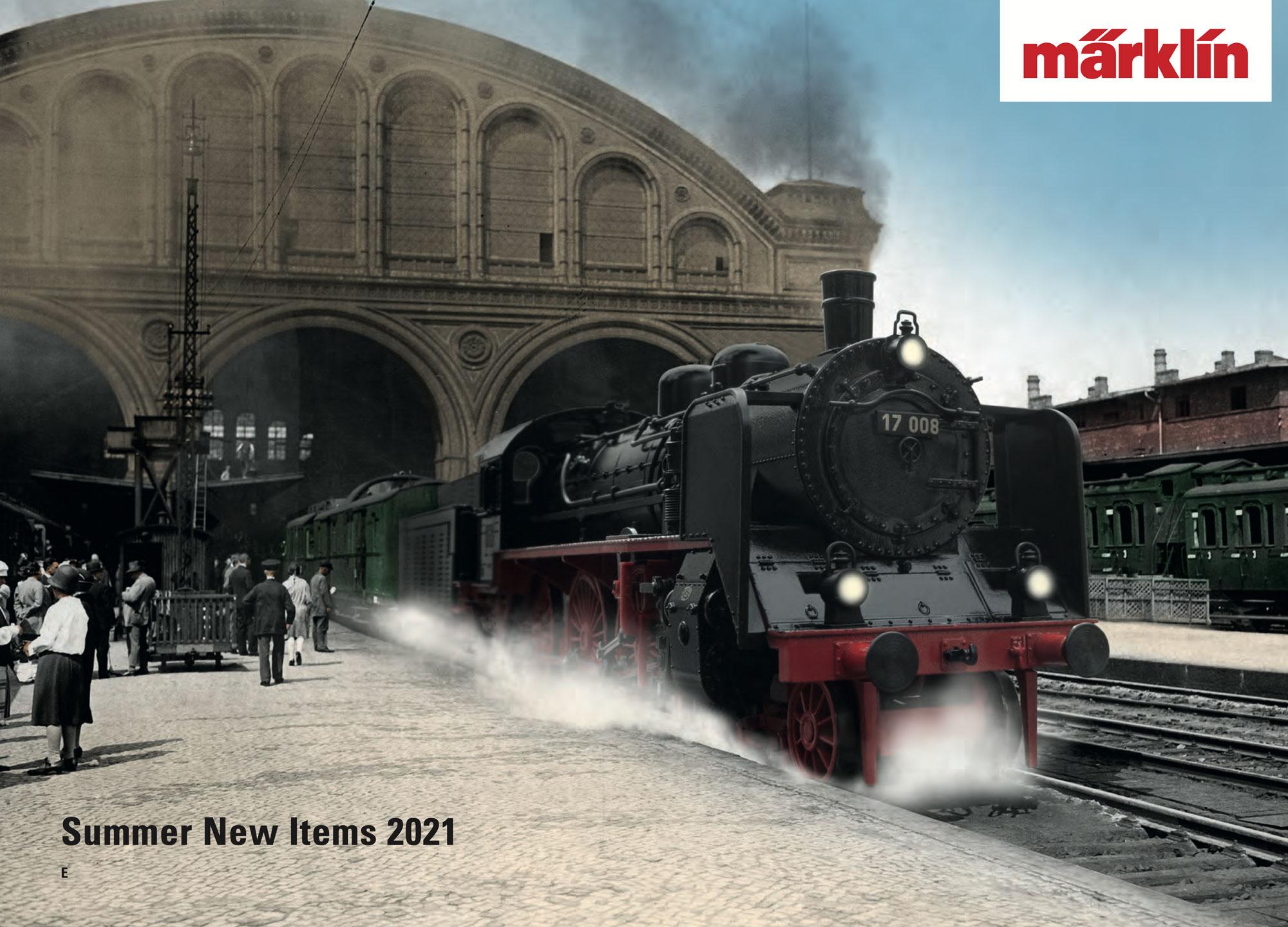 Märklin - Novelties Summer 2021 catalog