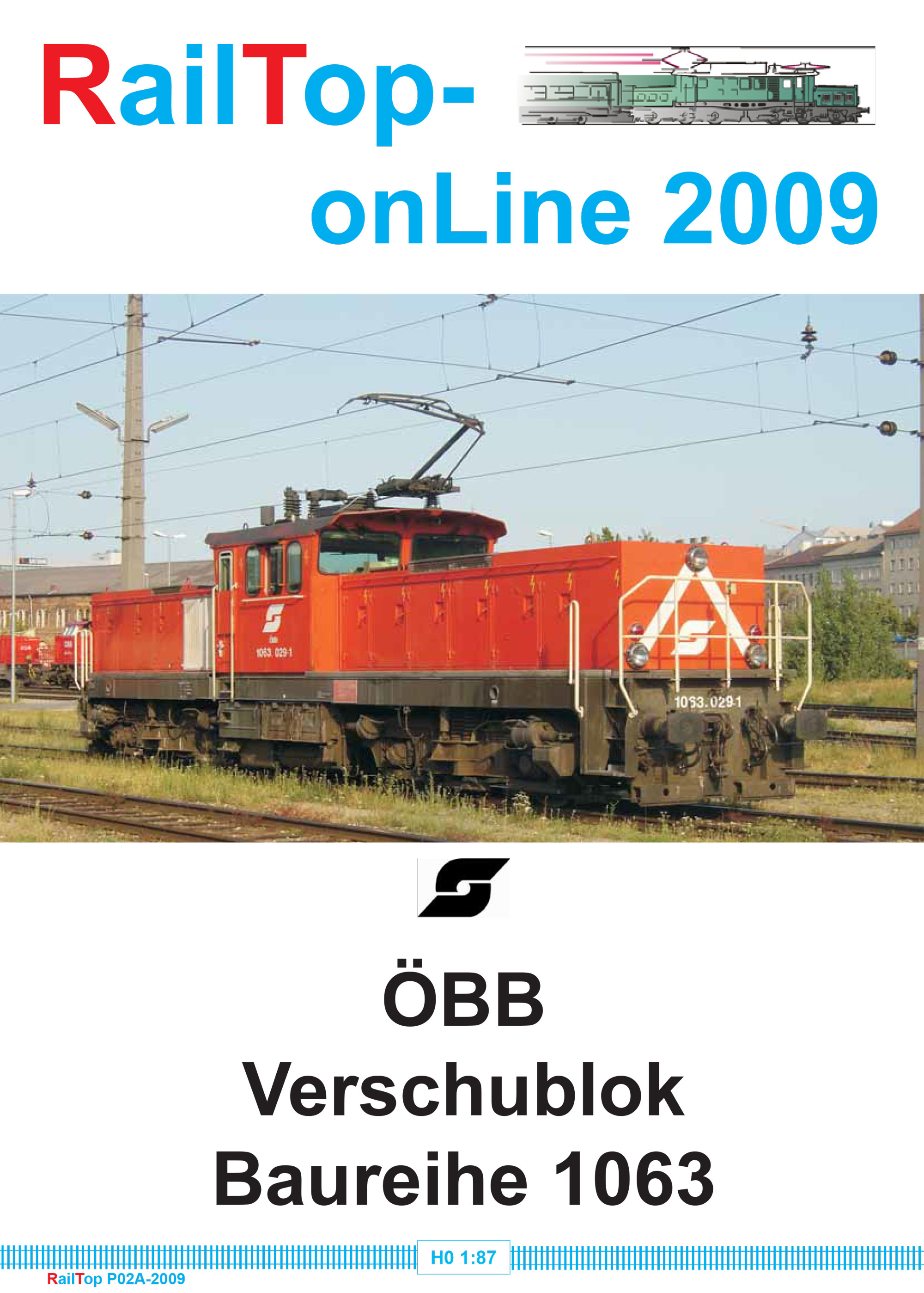 RailTop - ÖBB Verschublok Baureihe 1063