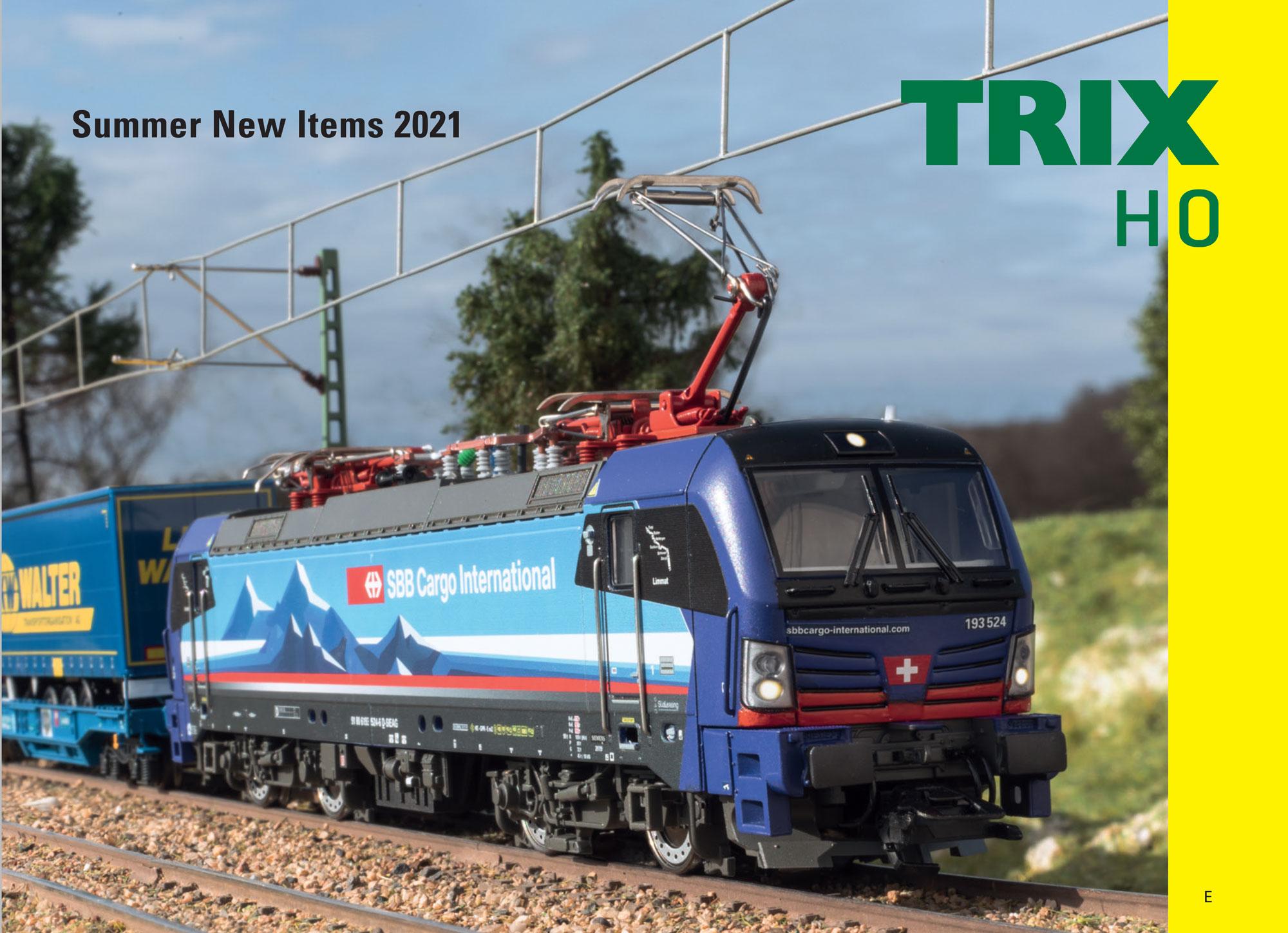 Trix - Summer new items 2021 catalog