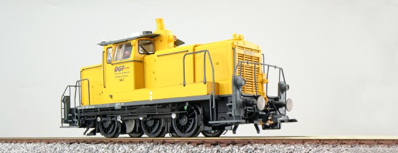 Class 362 556 - DGT Diesel locomotive