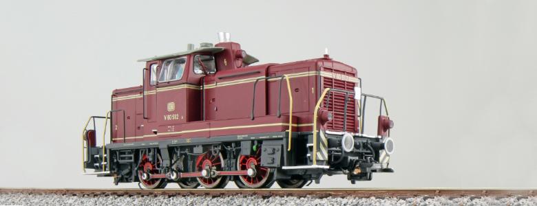 V60 512 - DB Diesel locomotive