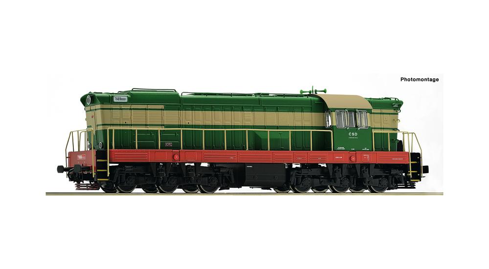 Diesel locomotive T669.0, CSD