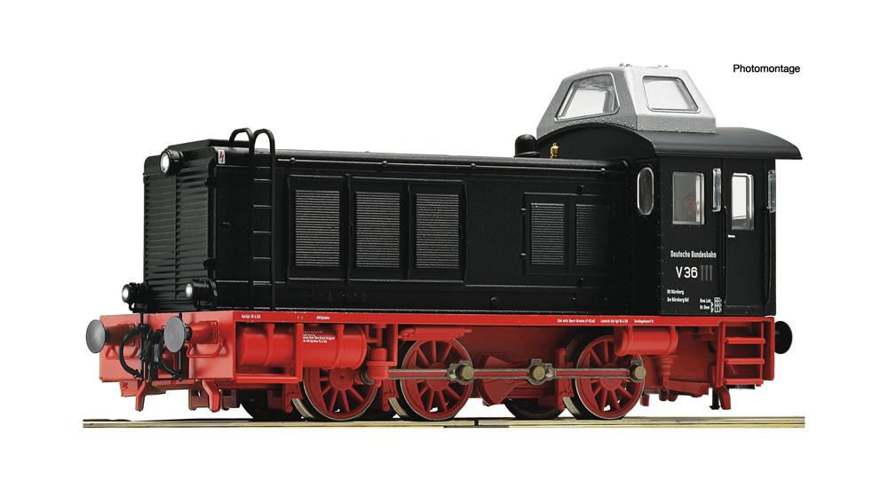 Diesel locomotive class V 36, DB