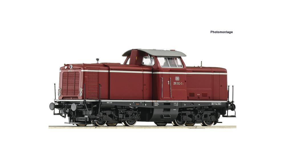 Diesel locomotive class 211, DB