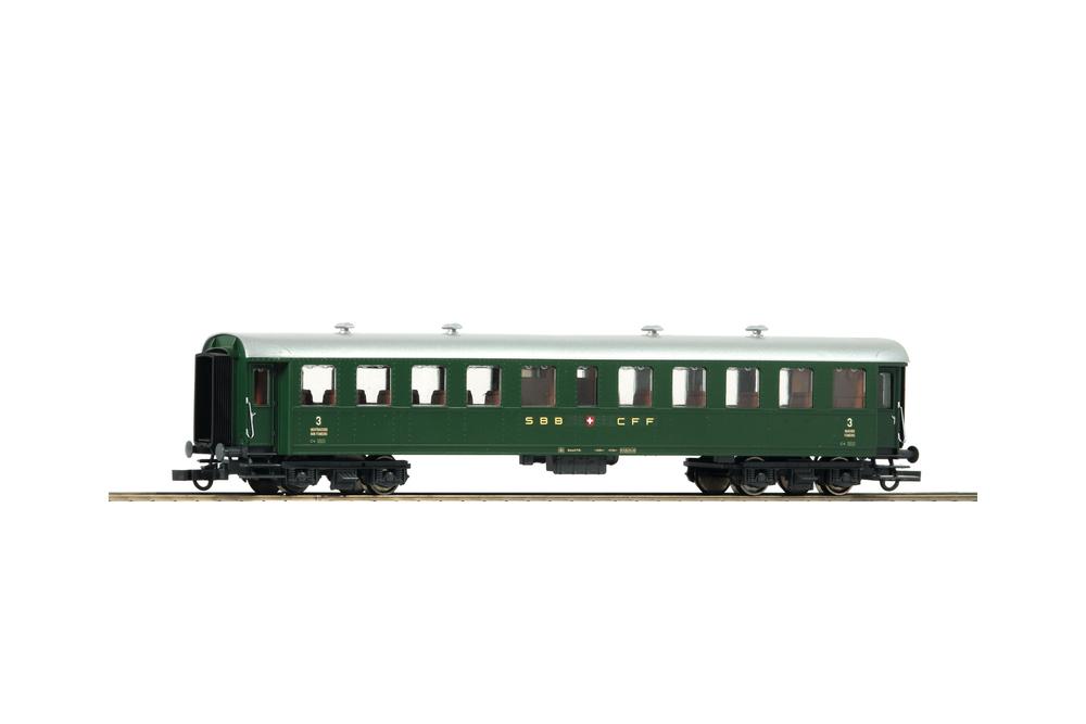 SBB C (3rd class passenger car)