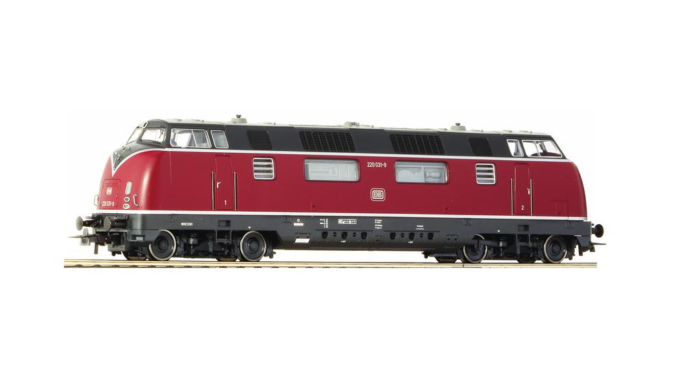Diesel locomotive 220 036-8, DB
