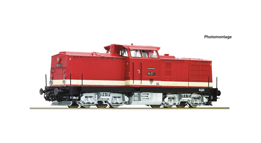 Diesel locomotive class 112, DR