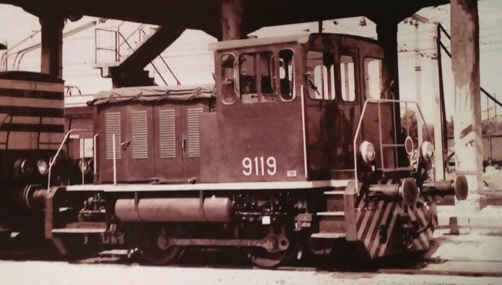 SNCB Class 91 Diesel shunter