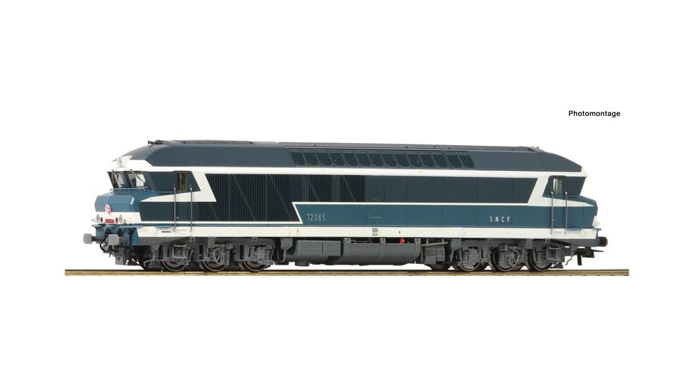 Diesel locomotive CC 72000, SNCF