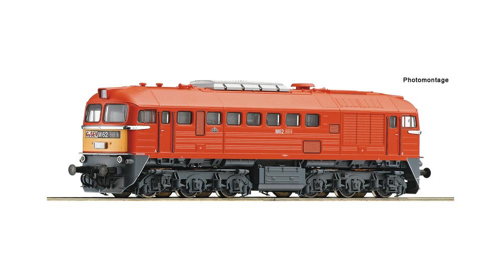 Diesel locomotive M62, GYSEV