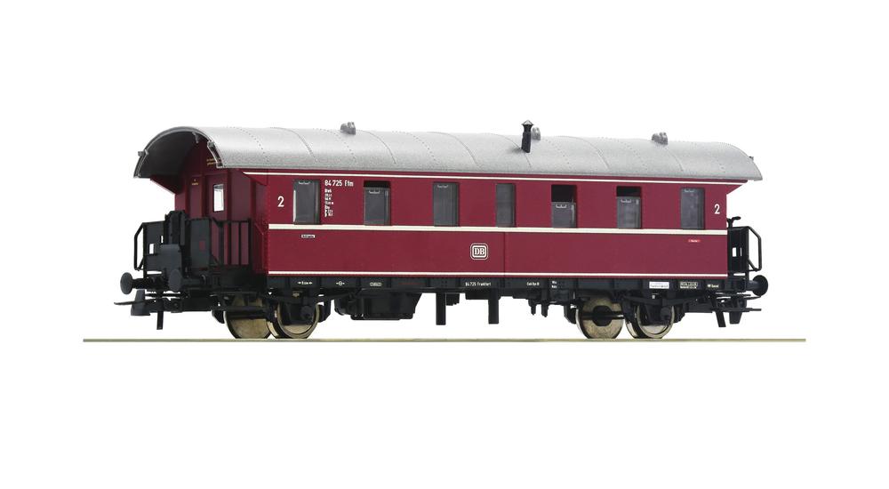 """2nd class passenger car """"Donnerbüchse"""", DB"""