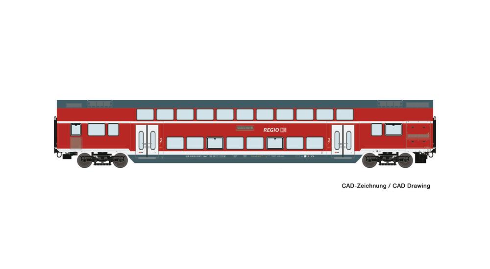 2nd class double deck coach, DB AG