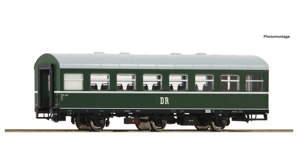 """Passenger coach """"Rekowagen"""", DR"""