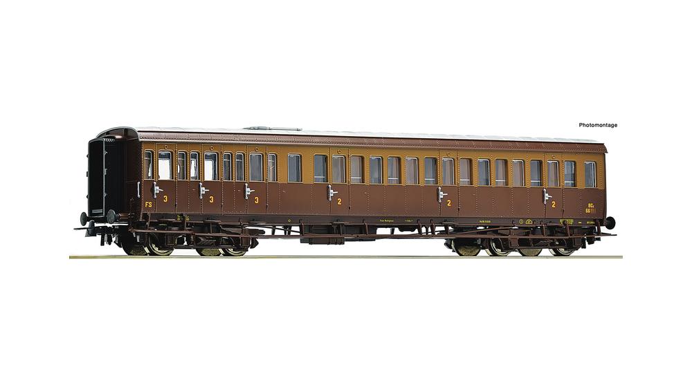 2nd/3rd class passenger coach, FS
