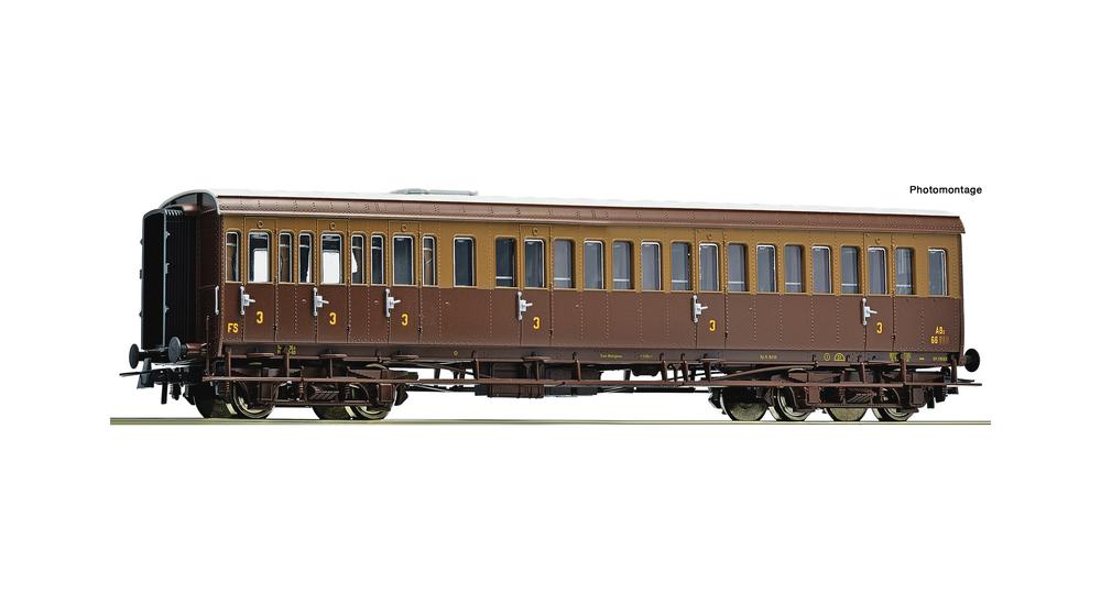 3rd class passenger coach, FS