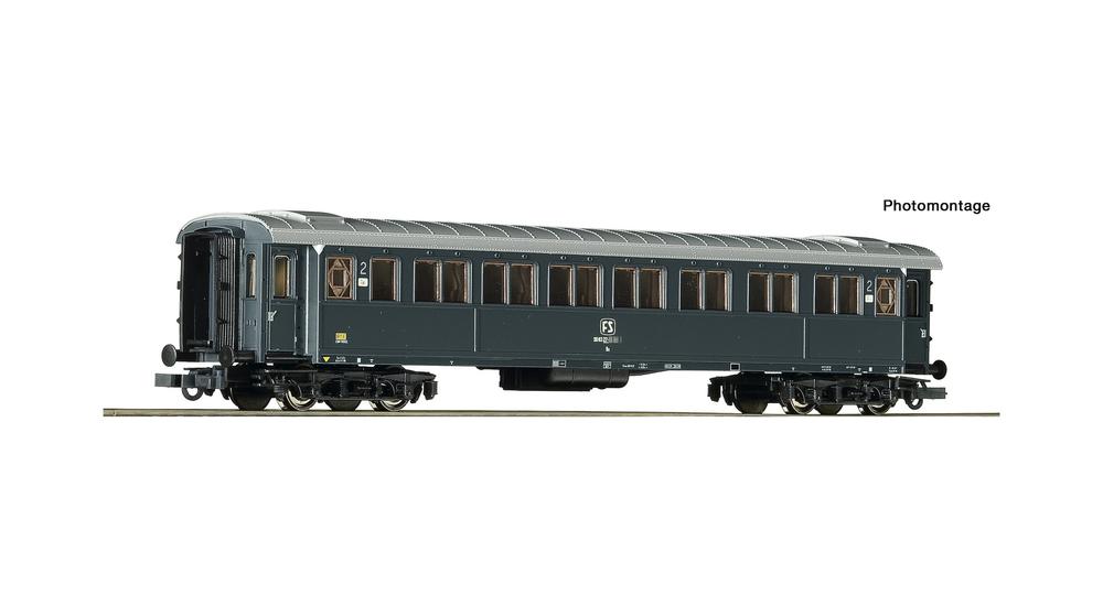 2nd class passenger coach, FS