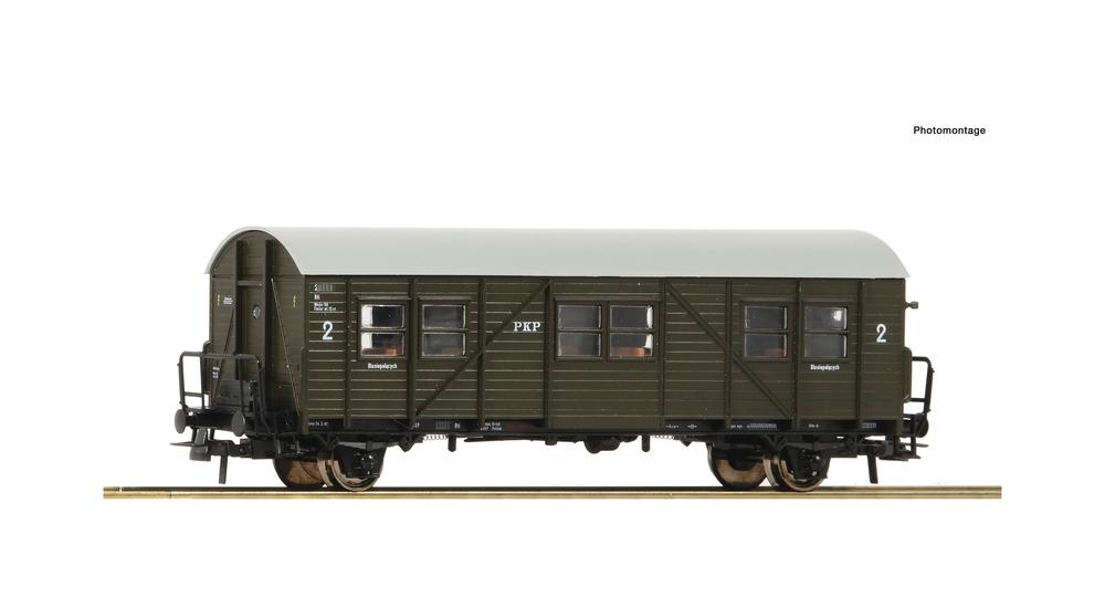 Auxiliary passenger coach, PKP
