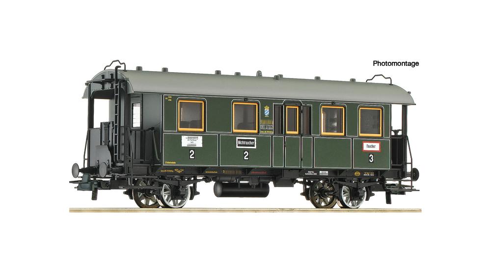 2nd/3rd class passenger coach, K.Bay.Sts.B.