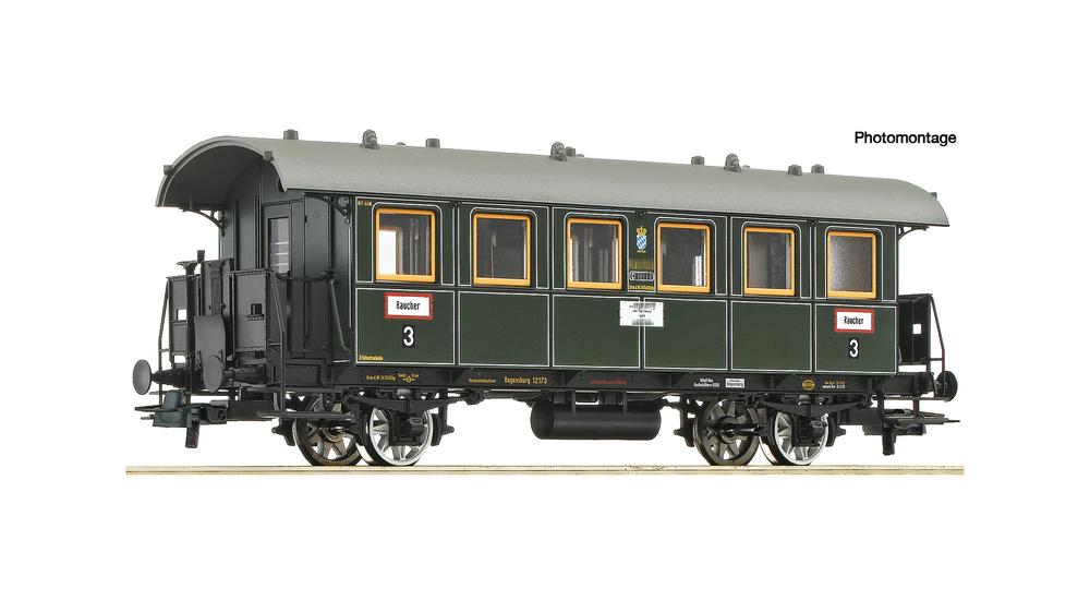 3rd class passenger coach, K.Bay.Sts.B.