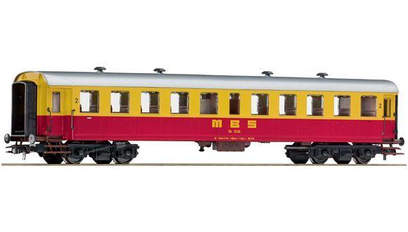 2nd class passenger coach, MBS
