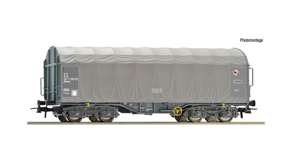 Slide tarpaulin wagon, VTG/SNCB