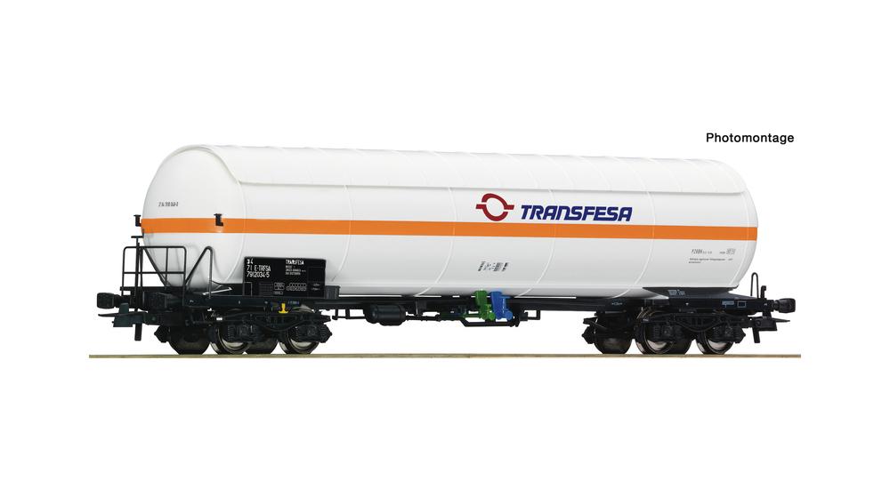 Pressure gas tank wagon, RENFE