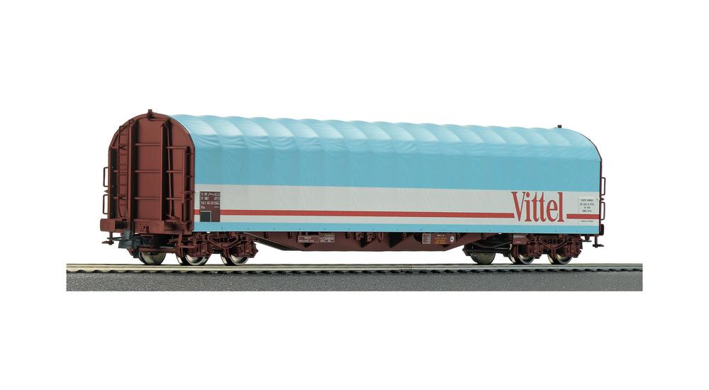 Slide tarpaulin wagon, SNCF