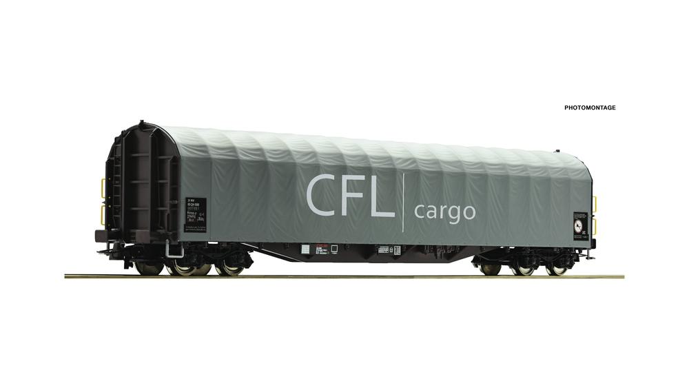 Slide tarpaulin wagon, CFL Cargo