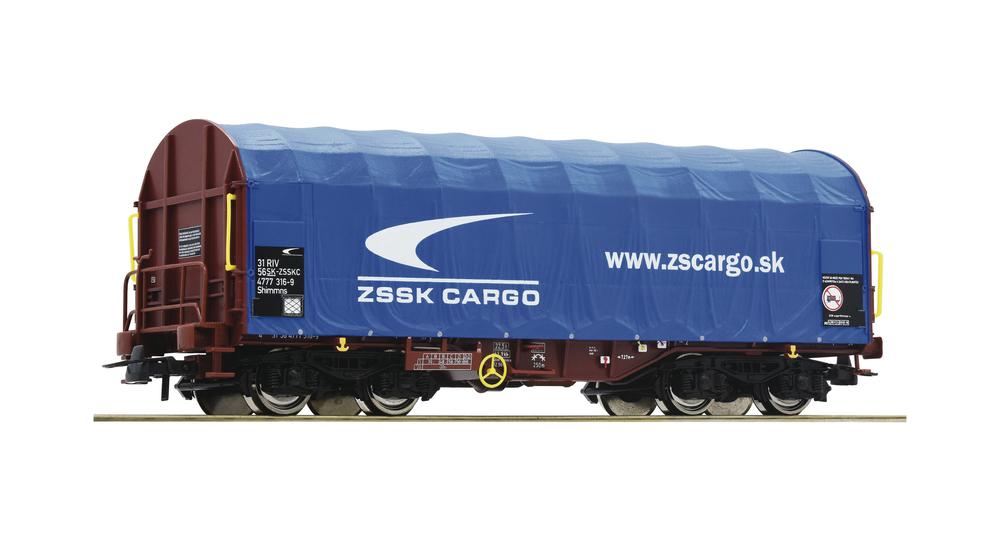 Slide tarpaulin wagon, ZSSK Cargo