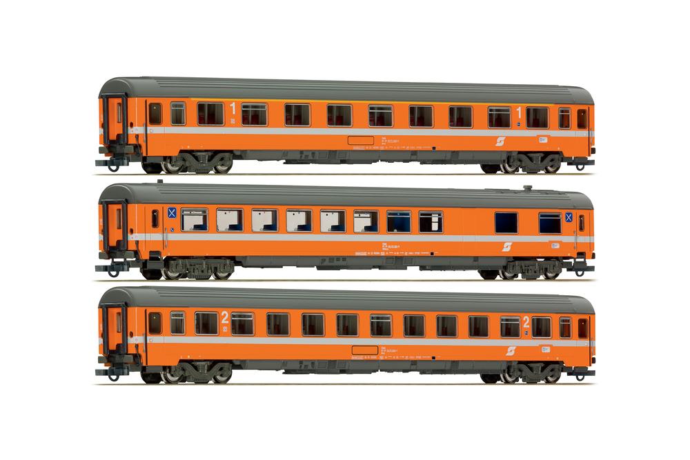 ÖBB Amz 19-71.0, WRmz 88-70.1 & Bmz 21-71.0