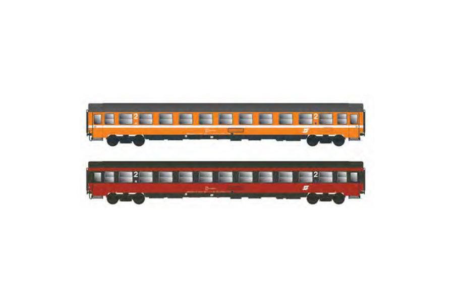 ÖBB Bmoz 21-70.5 & Bmz 21-70.5