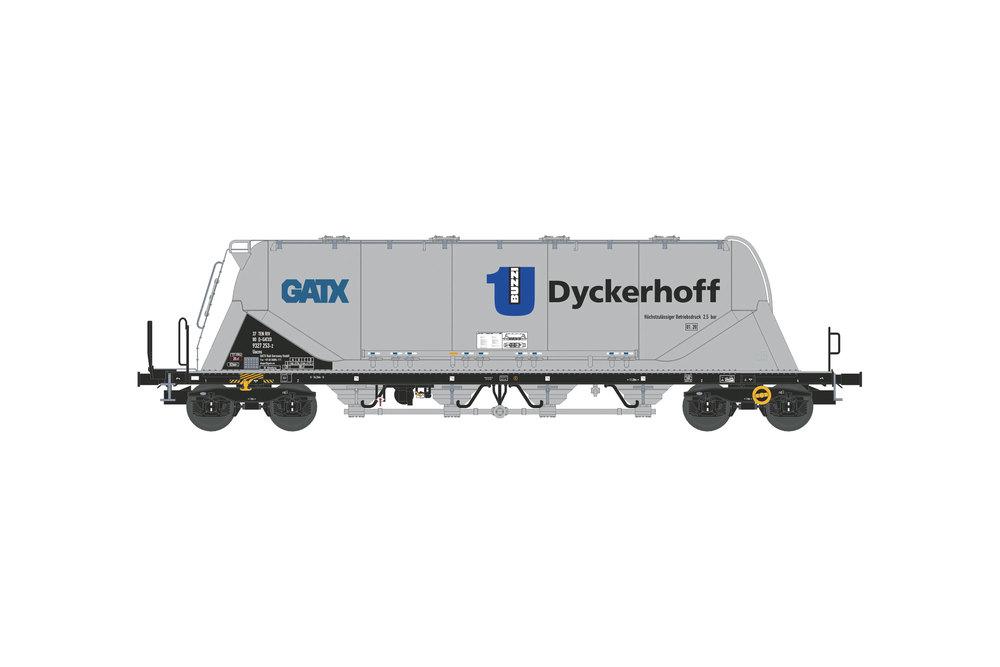 Silo wagon Uacns 82m³ (GATX-Dyckerhoff)