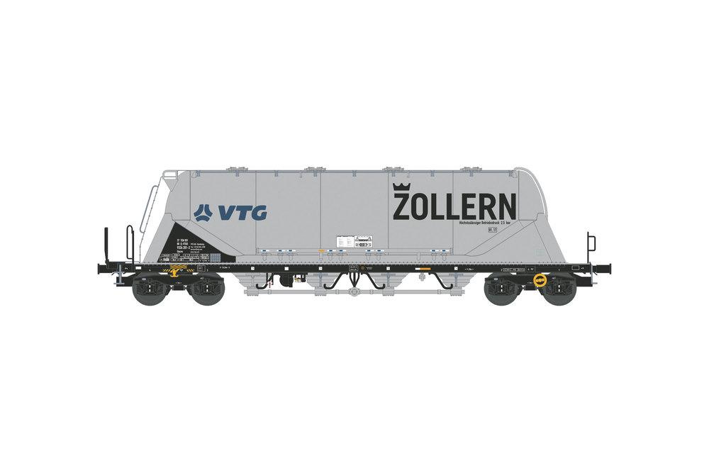 Silo wagon Uacns 82m³ (VTG-ZOLLERN)