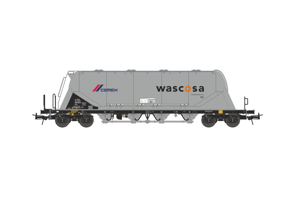 Silo wagon Uacns 82m³ (WASCOSA-CEMEX)