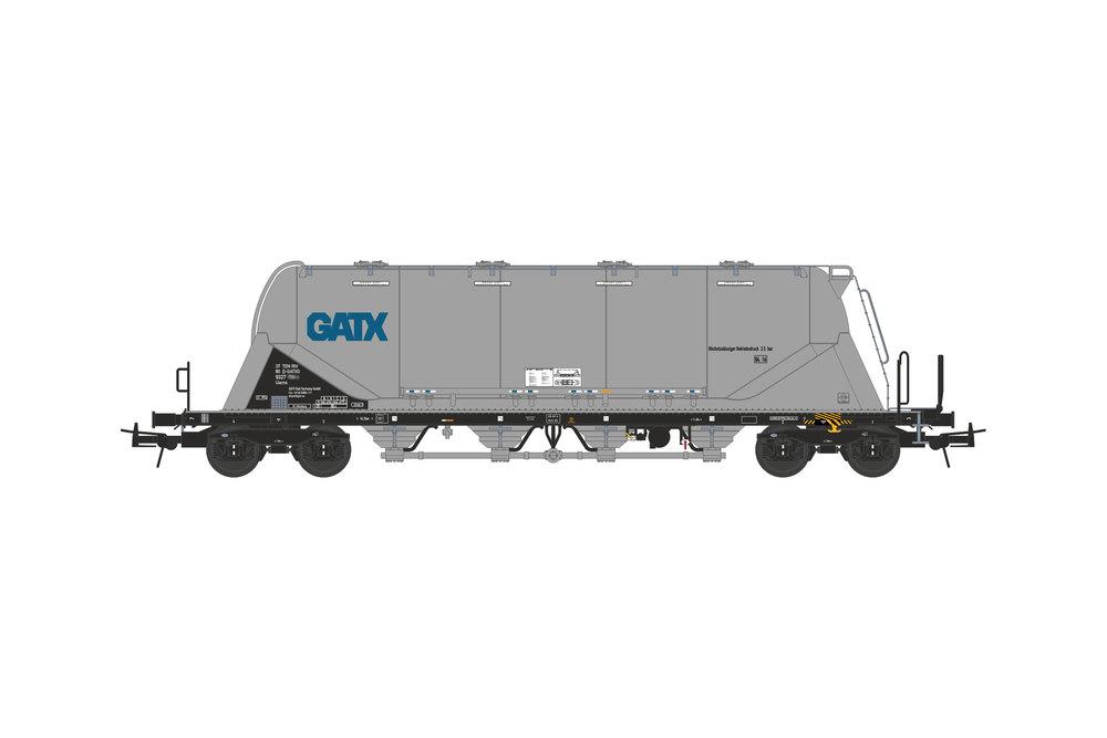 Silo wagon Uacns 82m³ (GATX)