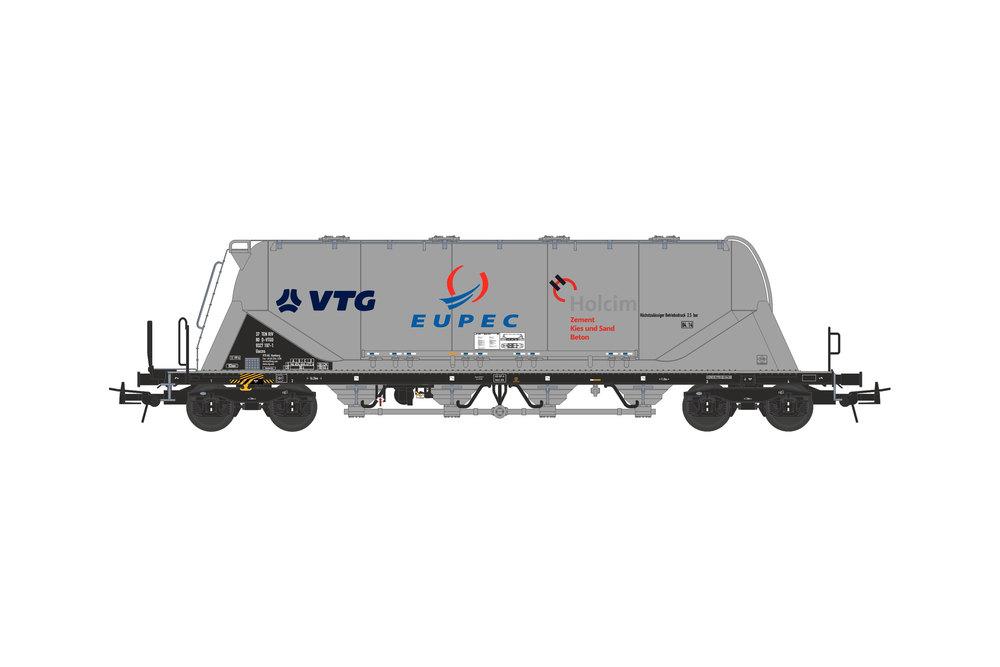 Silo wagon Uacns 82m³ (VTG - EUPEC - Holcim)