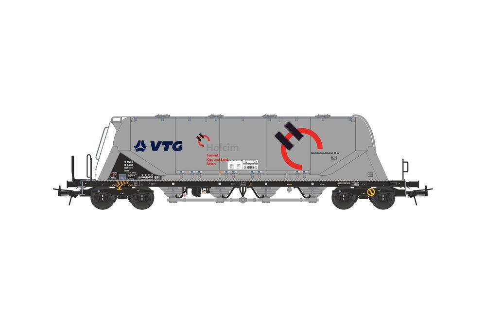 Silo wagon Uacns 82m³ (VTG - Holcim)