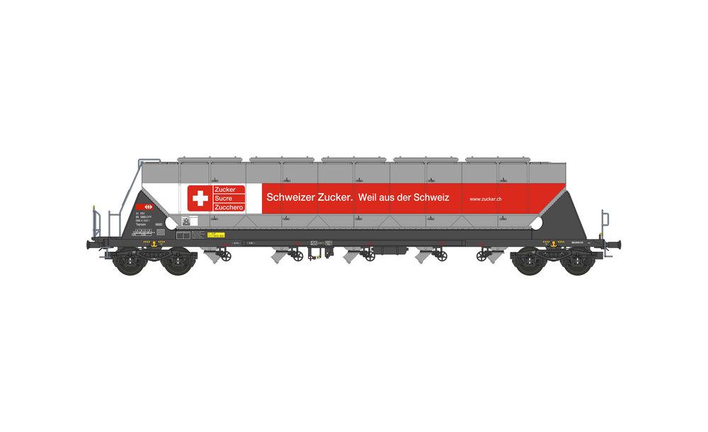 SBB Cargo - Silo wagon Tagnpps 96,5m³