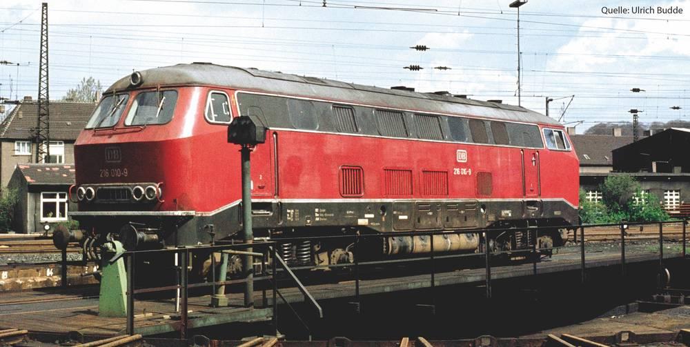 DB - BR 216 diesel locomotive