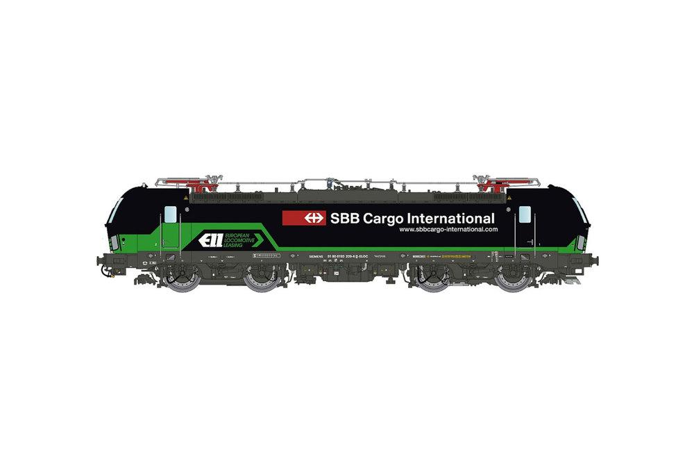 ELL / SBB Cargo International - Class 193 (Vectron) electric locomotive