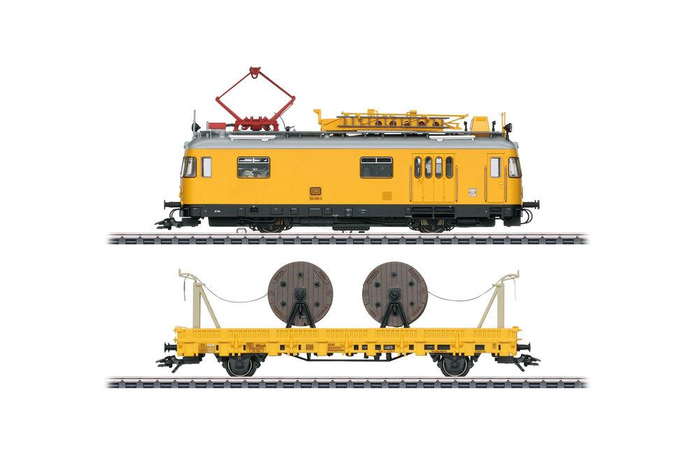 DB - Class 701 powered catenary maintenance rail car
